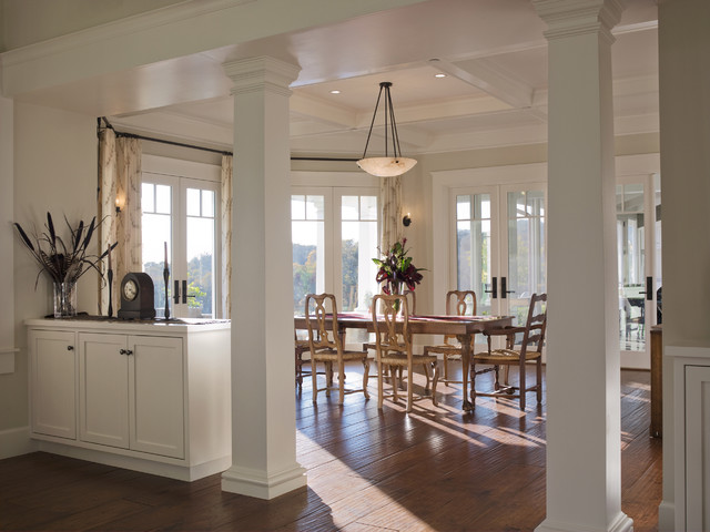 Chalk Hill Residence - Dining With Views traditional-dining-room