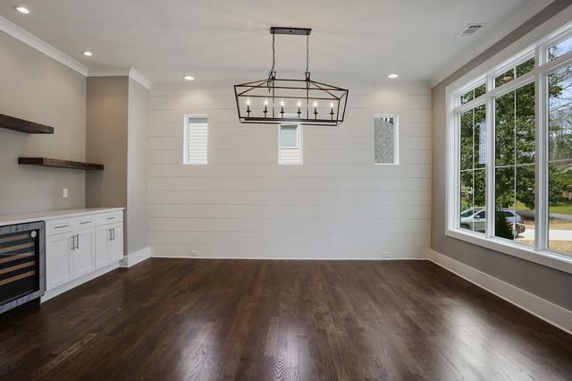 Dining room - cottage dining room idea in Atlanta