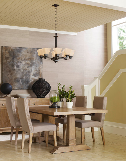 Chandeliers contemporary-dining-room