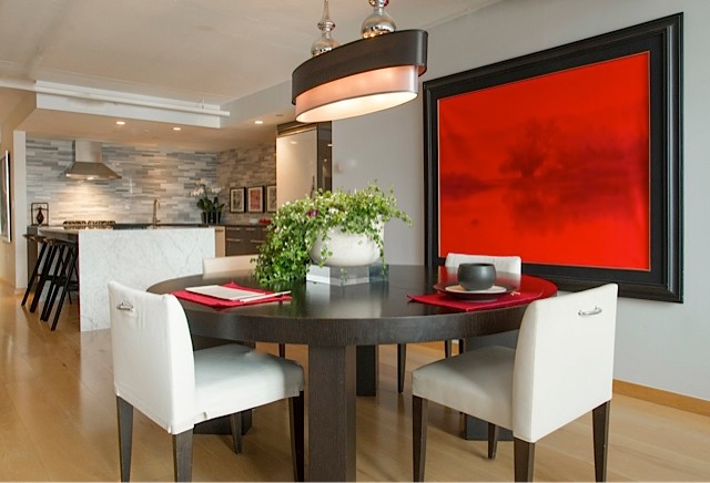 Channel Place | Boston, MA contemporary dining room