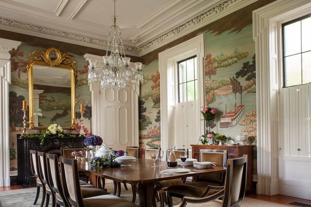 Charleston Victorian Dining Room Charleston By Slc Interiors