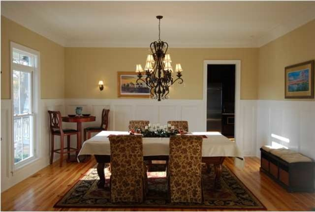 Charleston waterfront cottage traditional dining room for A la mode salon hudson wi
