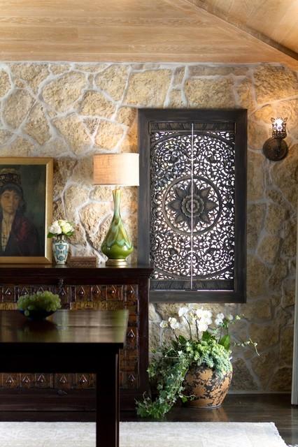 Charmean Neithart Interiors, LLC. mediterranean-dining-room