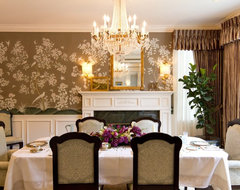 Charmean Neithart Interiors, LLC. traditional dining room