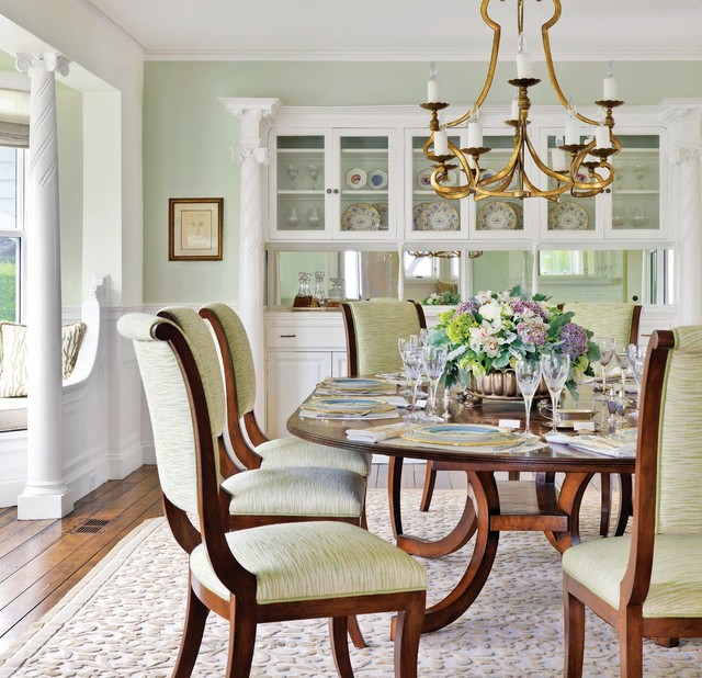 Introducing Boston Interiors Custom Dining: Chatham Residence
