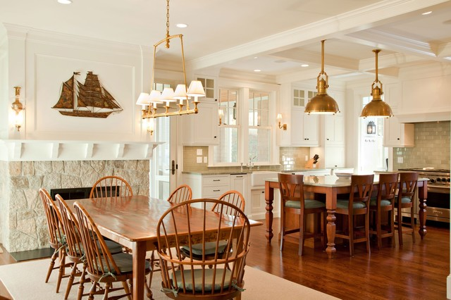 chatham waterfront beach style dining room other by cataldo