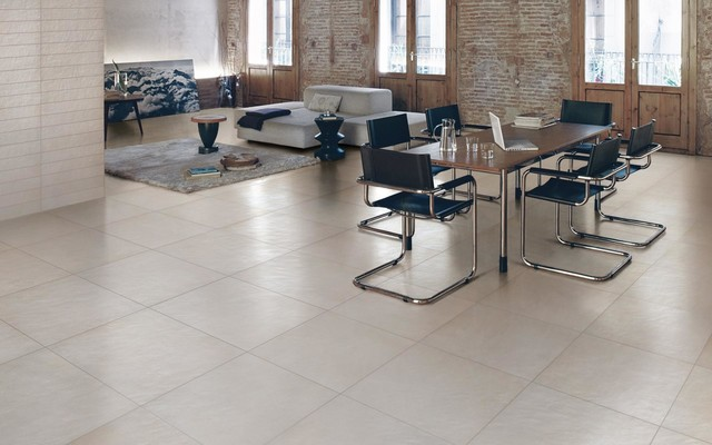 Cheaper Floors contemporary-dining-room