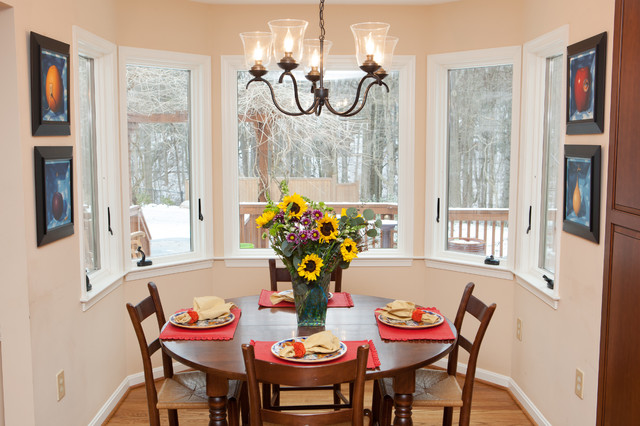 Chef's Dream Kitchen traditional-dining-room