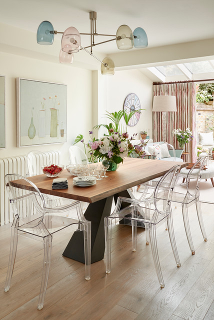 Chelsea Cottage Eclectic Dining