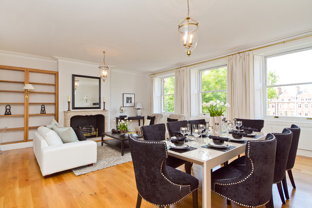 Chelsea Living contemporary-dining-room