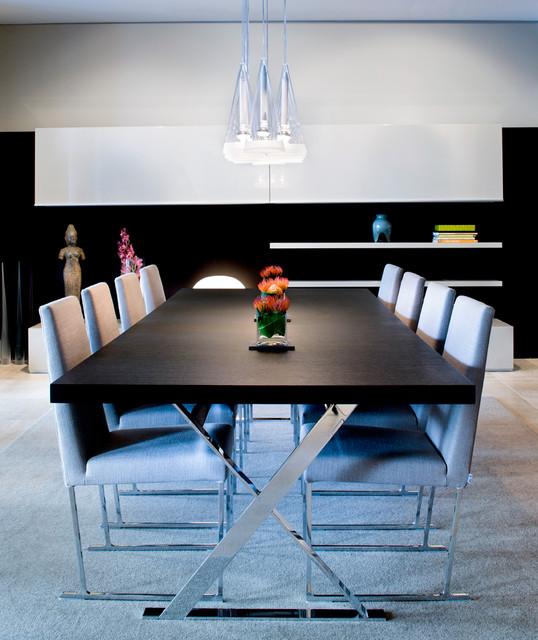 Chelsea Loft contemporary-dining-room