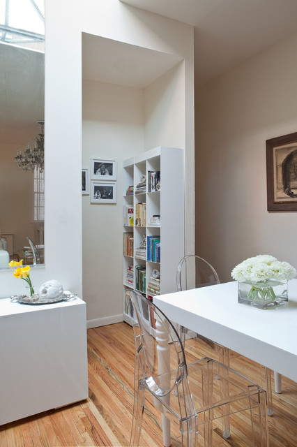 Chelsea Pied-a-Terre contemporary-dining-room
