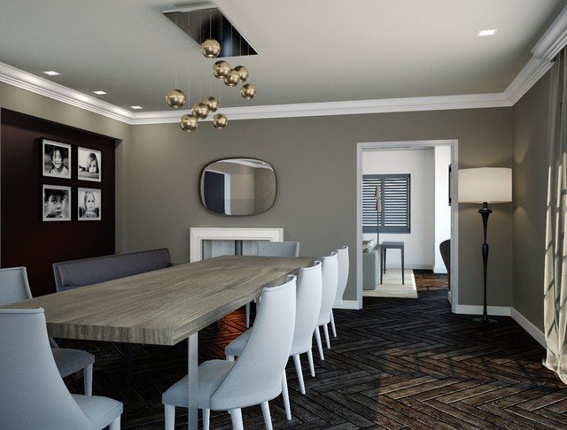 Chelsey contemporary-dining-room