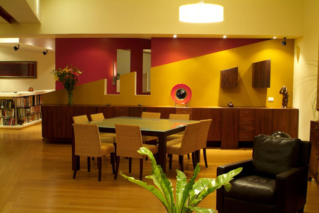 contemporary dining room by Aurelio Vazquez