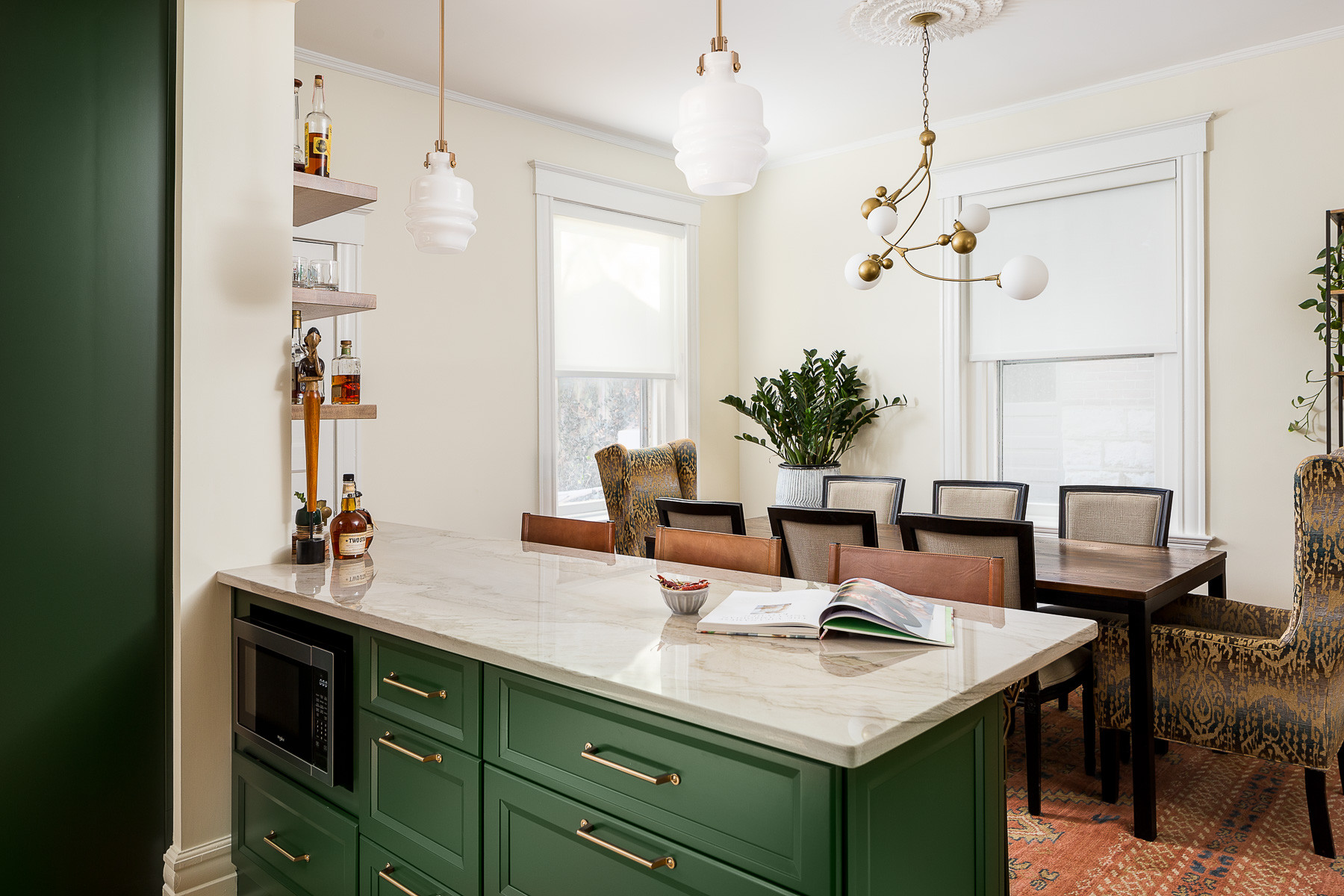 75 Beautiful Small Kitchen Dining Room Combo Pictures Ideas January 2021 Houzz