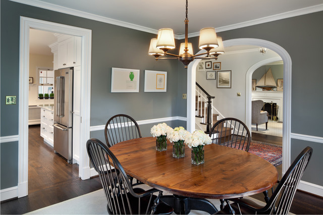 Chevy Chase Home Makeover Traditional Dining Room Dc