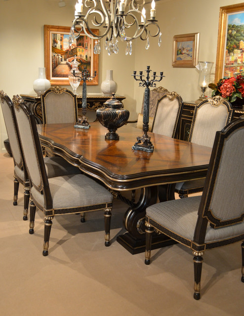 Chic Rococo Dining Room Traditional Dining Room San