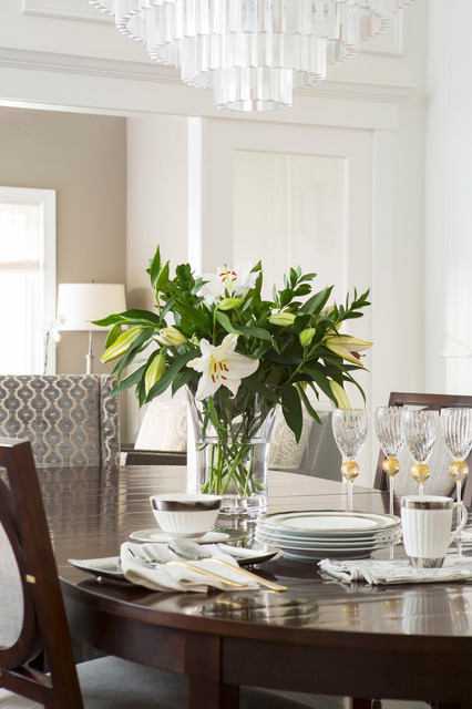 Chic Townhome Transitional Dining Room Minneapolis By Mary Hickey Interiors
