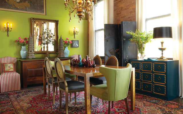 Chicago loft eclectic dining room chicago by mark for Eclectic dining room decorating ideas