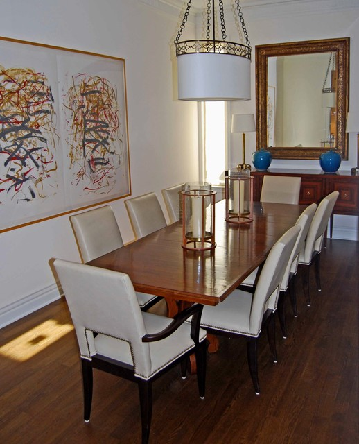 Chicago Row House traditional-dining-room