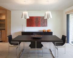 Chimney Corners Remodel modern-dining-room