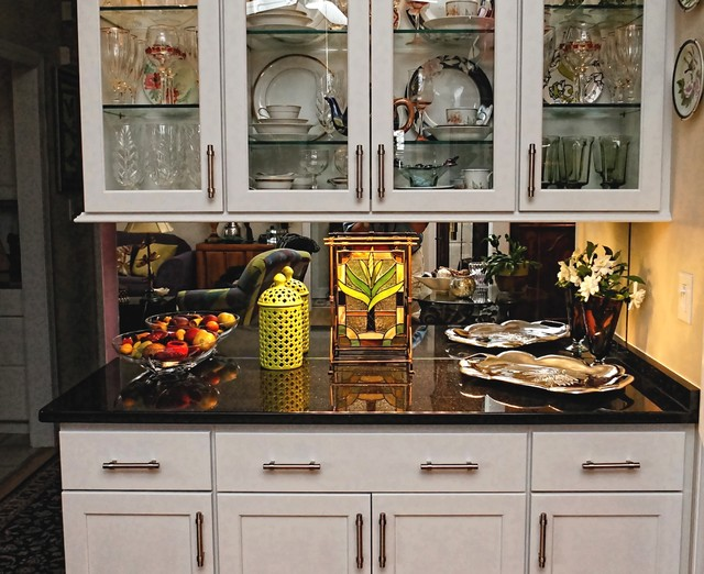 China-Buffet Cabinet Project - Eclectic - Dining Room - other metro - by Creekside Cabinets Inc.
