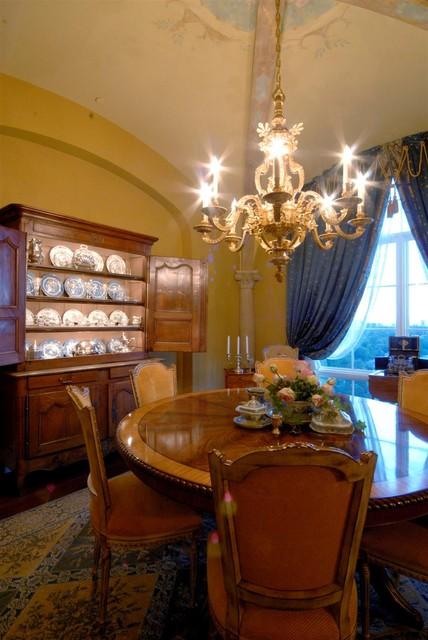 Dining Rooms of The French Tradition traditional-dining-room