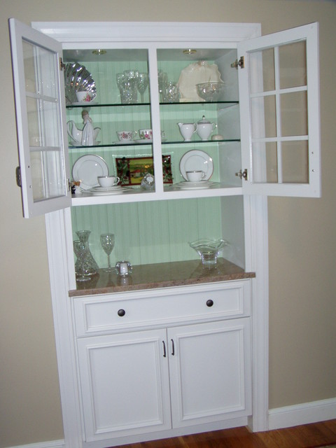 China Cabinet Traditional Dining Room Other Metro