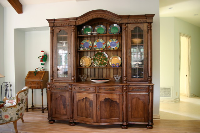 China Cabinet - Country French - Dining Room - san diego - by David Frisk