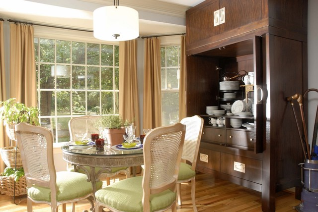 China Cabinet eclectic kitchen