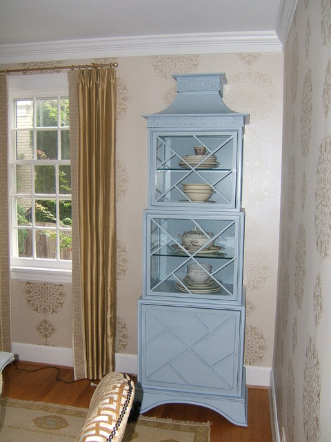 china cabinets eclectic-dining-room