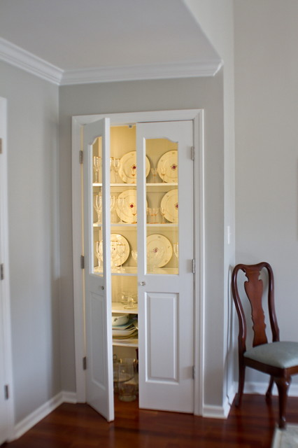 China closet traditional dining room other by for Dining room closet ideas