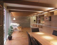 Christensen Remodeling midcentury-dining-room