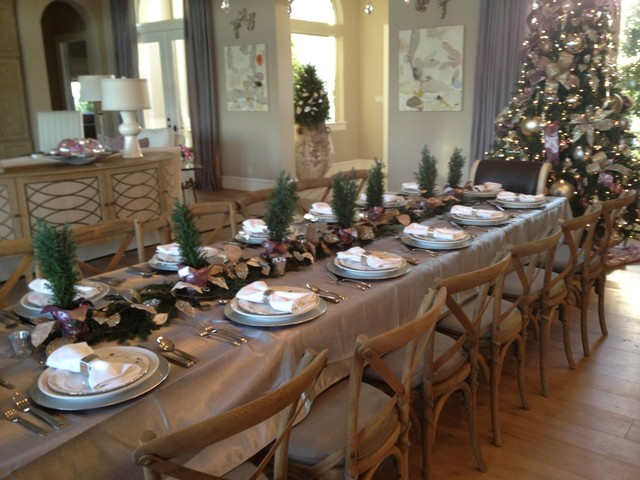 Christmas Decor Eclectic Dining Room Houston By Dodson And Daughter Interior Design
