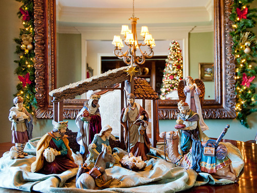 Photo By Design Julie Discover Dining Room Ideas Other Christmas Decorations