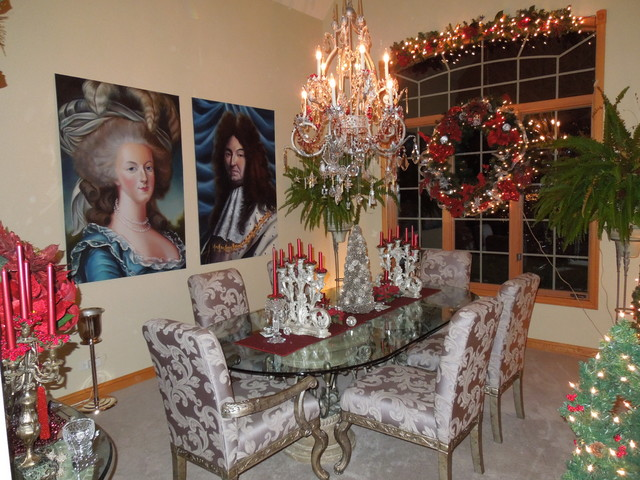 Christmas Dining Room traditional-dining-room