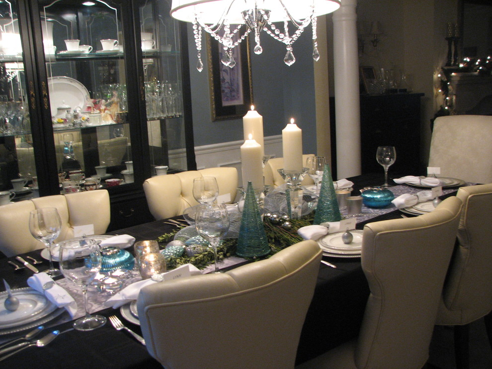 Christmas Holiday Decorating Traditional Dining Room Toronto By The Expert Touch Interiors