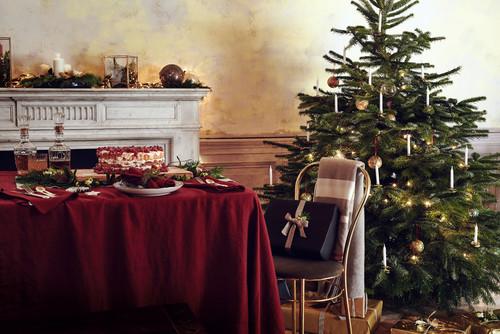 Christmas setting