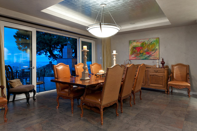 Christopherson Road contemporary-dining-room