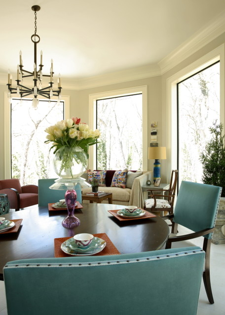 Christy Dillard Collection By Lorts Eclectic Dining Room Other Metro Pierce