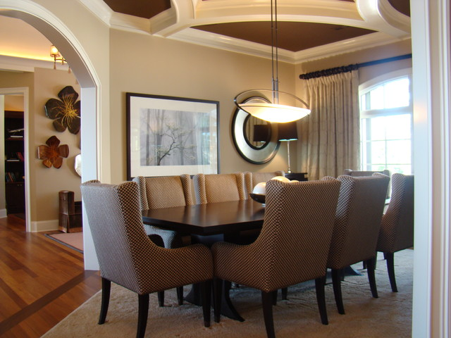 christyj contemporary dining room