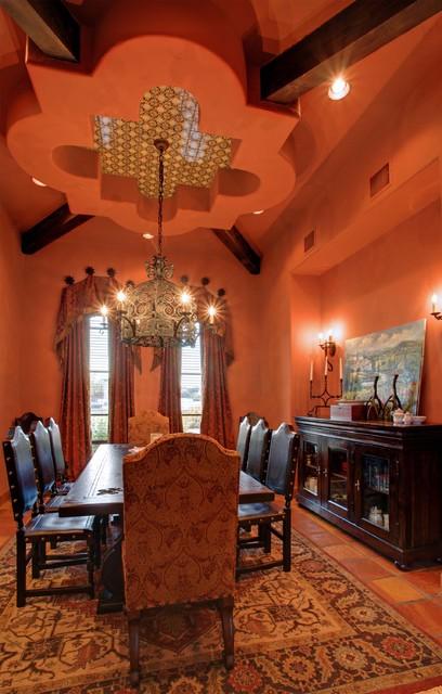 Cimarron Hacienda mediterranean-dining-room