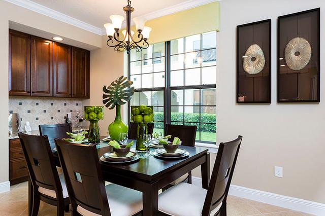 show home dining room | City Homes Show Home, Reunion Resort & Club - Contemporary ...