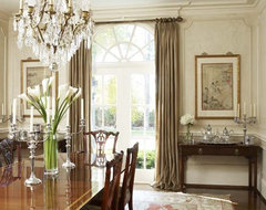 Need advice on window treatments in formal dining room for Formal dining room window treatments