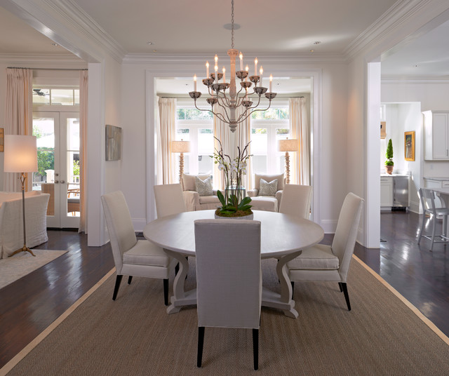 Orleans Ii White Wash Traditional Formal Dining Room: City Park Avenue New Orleans