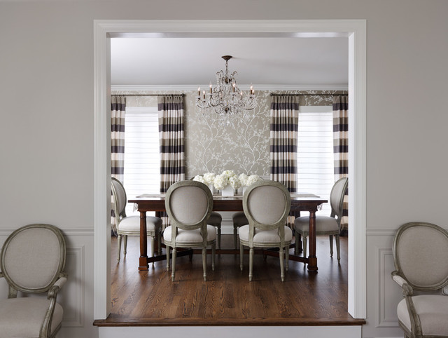 City Townhome traditional-dining-room