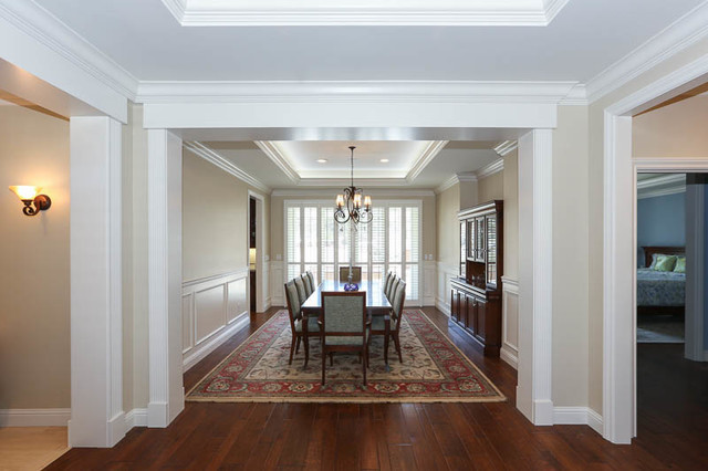 Claremont 1 Contemporary Dining Room San Francisco By Fitzpatrick And Sons General