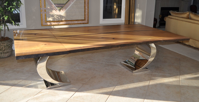 Live-edge Tables contemporary-dining-tables