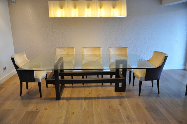 ios dining table transitional dining room madrid