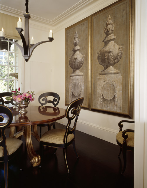 Classic And Elegant Small Dining Room Eclectic